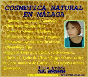 COSMÉTICA NATURAL MARBELLA JABONES NATURALES ESTEPONA, FUENGIROLA, MÁLAGA TALLERES YCURSOS